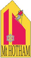 Retro Mt Hotham Logo