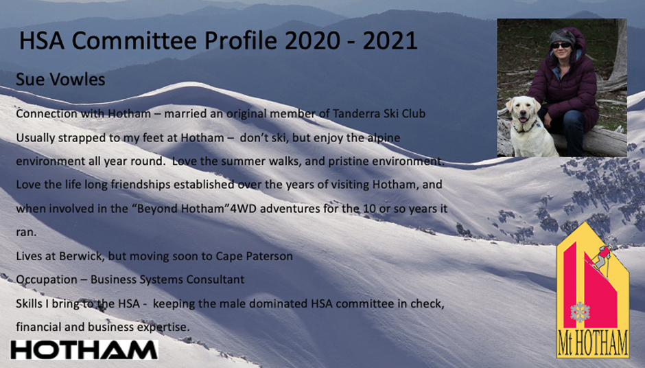 Sue Vowles HSA Committee
