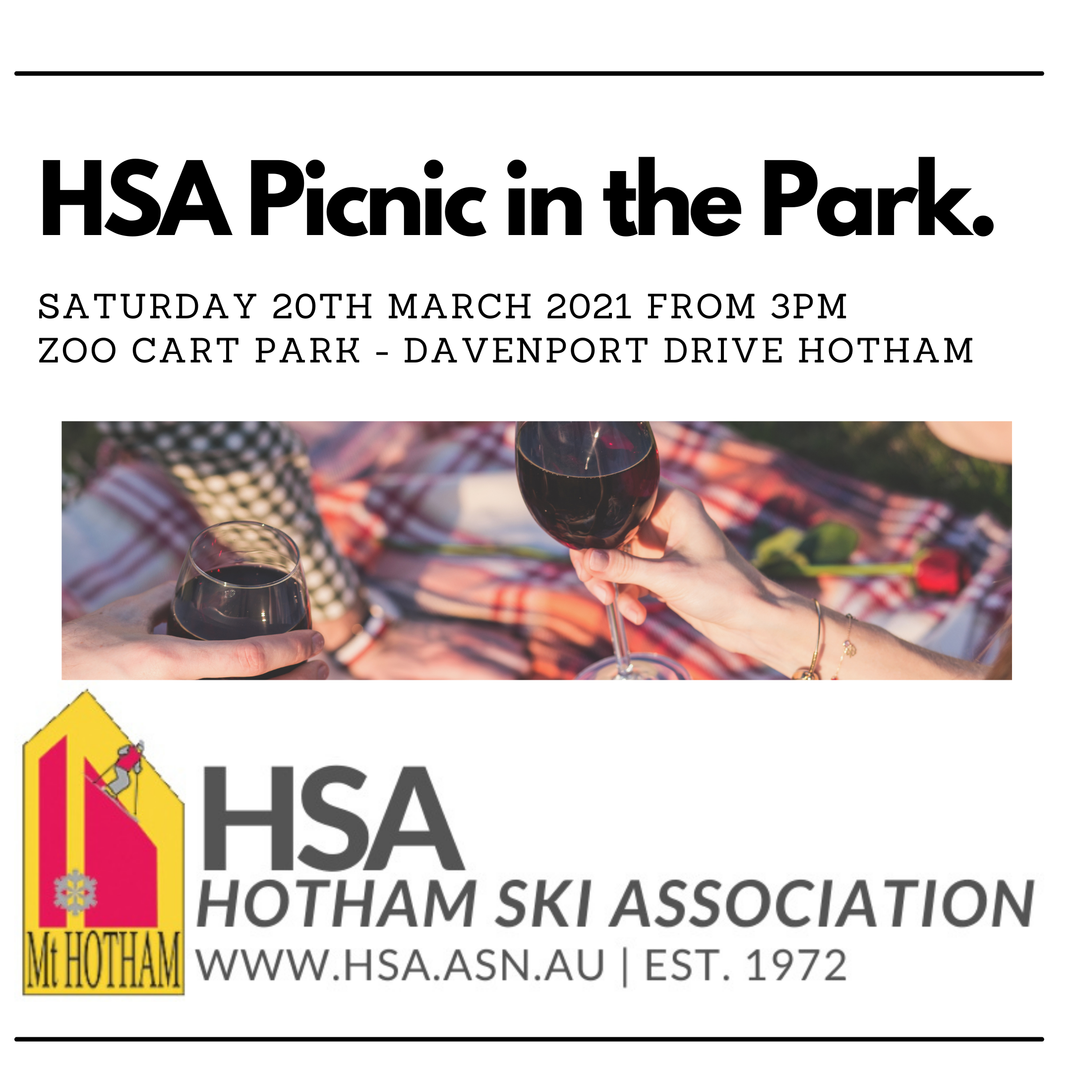 Picnic in the Park HSA Event March 2021