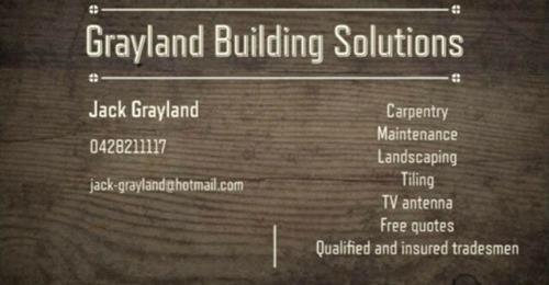 Jack Grayland Hotham Builders