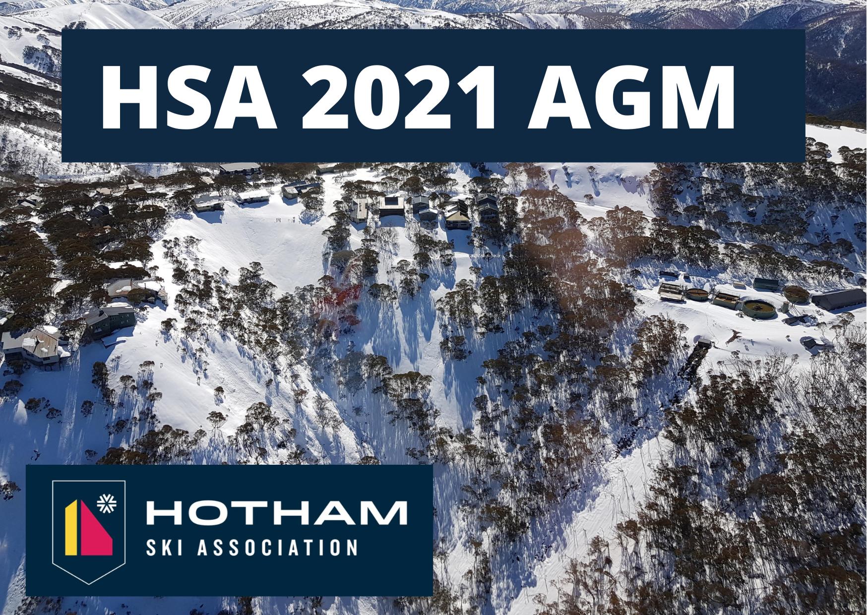 HSA AGM 2021 via Zoom