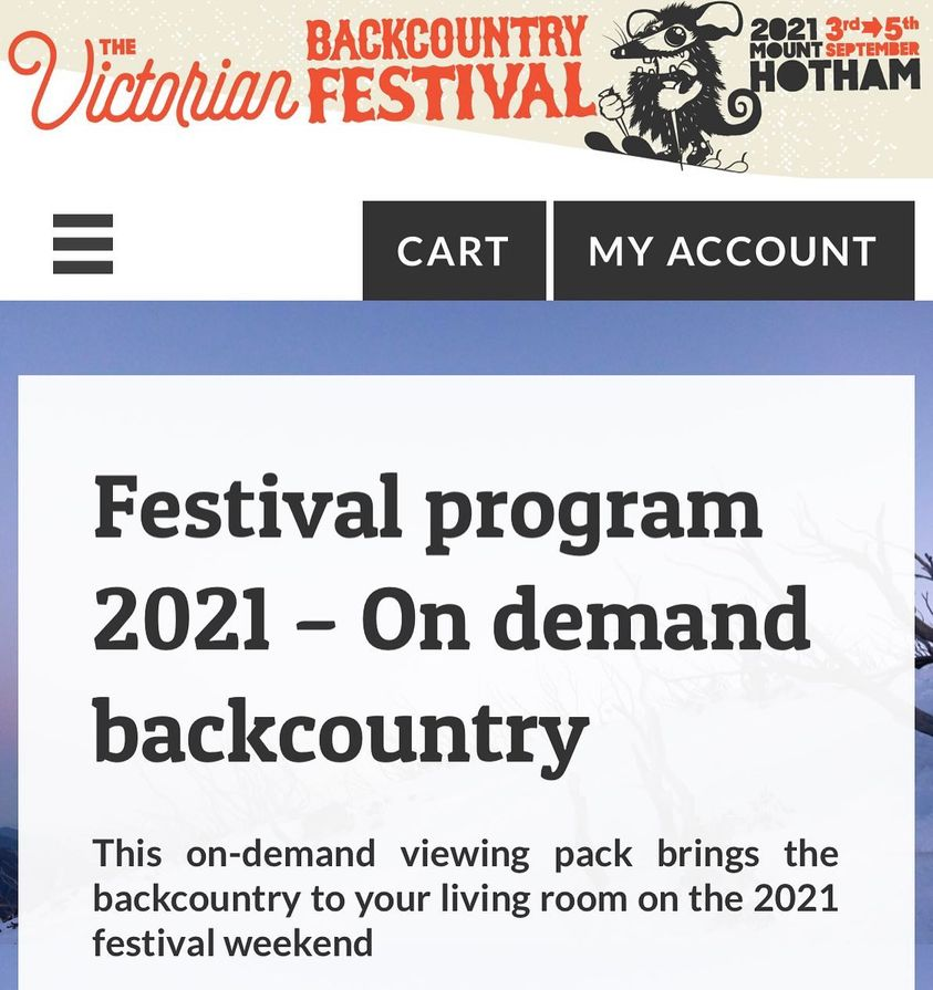 Victorian Backcountry Festival Image